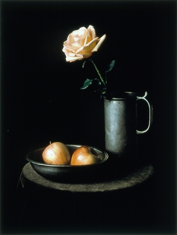 Evelyn Hofer Still Life Painting Fruit