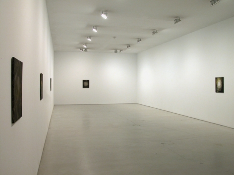 Installation view of Helmut Federle, Scratching Away at the Surface, 2009 at Peter Blum SoHo.