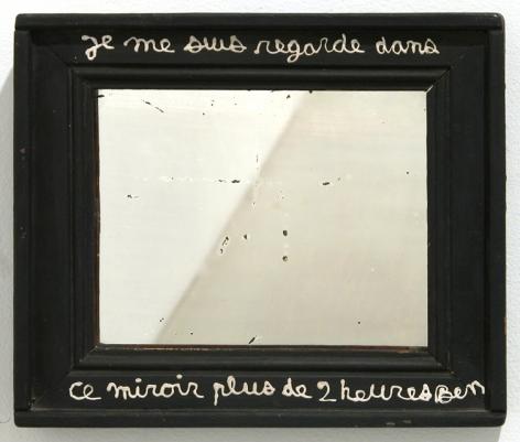Ben Vautier Je me suis regarde..., 1980