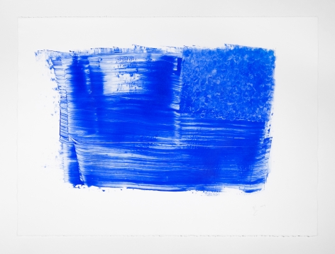 Nicholas Galanin Everything We've Ever Been, Everything We Are Right Now - Untitled (Blue), 2019