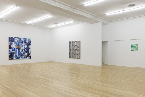 Installation of Systematic Anarchy, January 23 – March 15, 2014