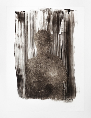 Nicholas Galanin Everything We've Ever Been, Everything We Are Right Now - Untitled (Black Figure), 2019