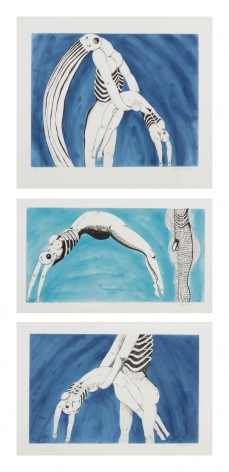 Louise Bourgeois Triptych for the Red Room, 1994