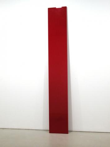 John McCracken Plane (Red Plank), 1988-93