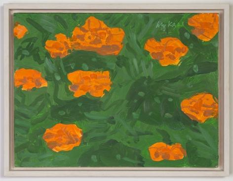 Alex Katz Marigold 1, 2001