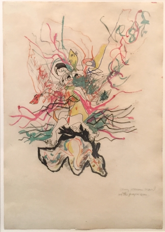 Jackson Pollock Untitled, 1945