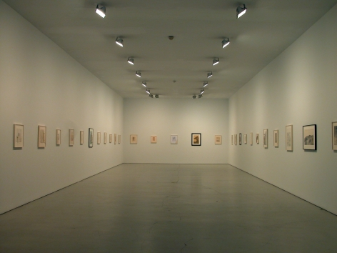 Installation ofWorks on Paper from the 1940's and 1950's, September 5– November 11, 200