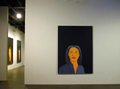 Alex Katz Paintings Smile Exhibition Peter Blum Chelsea 2007