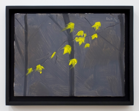 Alex Katz Yellow Leaves 2, 2006