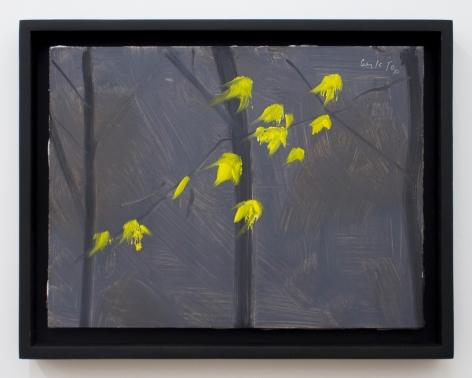 Alex Katz Yellow Leaves 2, 2006