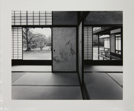 Katsura Villa/ Main Room, right, and the Second Room left, of the Middle Shoin, viewed from the north-east, 1981-82