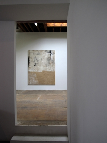 Installation view of Rosy Keyser, Promethean Dub, 2011 at Peter Blum Chelsea.