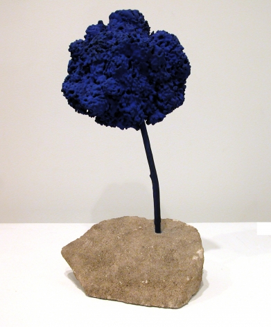 Yves Klein Untitled Blue Sponge Sculpture (SE205), 1959