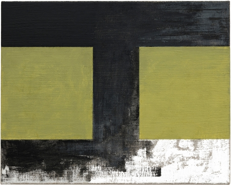 Helmut Federle Basics on Composition I (The Road/Beau Travail), 2019