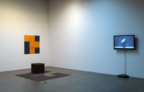 Installation view of Some Thing Else Group Exhibition, 2008 at Peter Blum Chelsea.