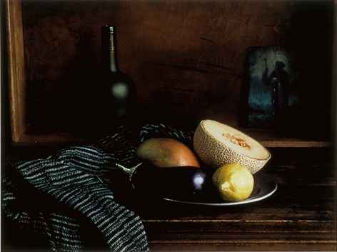 Evelyn Hofer Still Life Painting Fruit