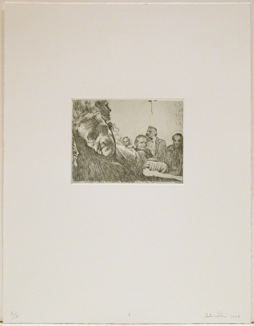 She, 2008 portfolio of 16 intaglio prints in soft ground, hard ground, aquatint, and spitbite