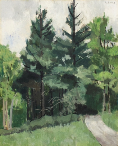 Alex Katz Maine Woods, 1949