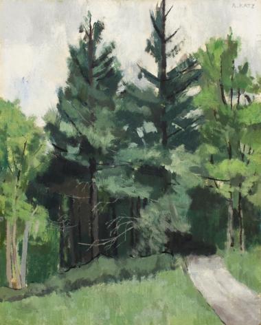 Alex Katz Maine Woods, 1949