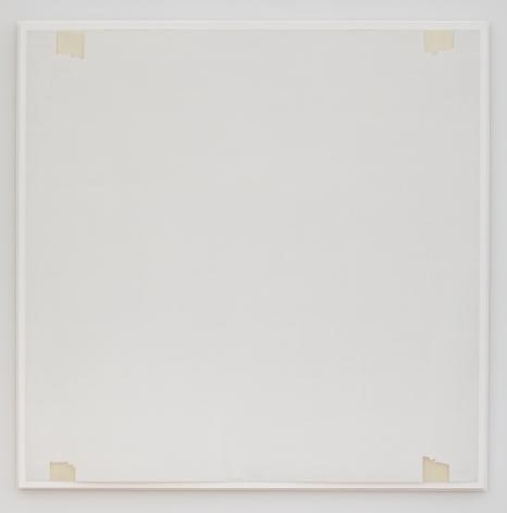 Robert Ryman Untitled (Untitled, Galerie Yvon Lambert, Paris, wall installation), 1969