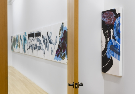 Installation of New Paintings, April 21 – June 25, 2016
