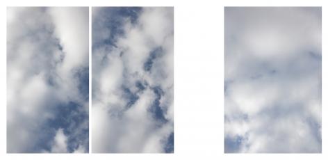 Sky, 2018 inkjet on fine art paper mounted on Dibond