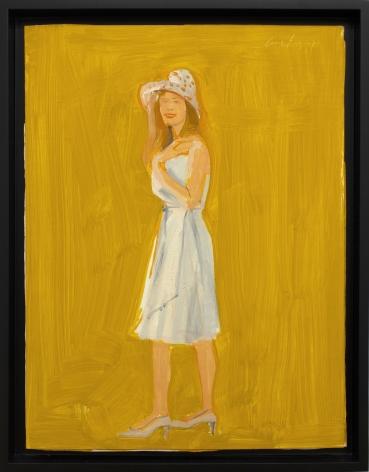 Alex Katz Lisa 3, 2009