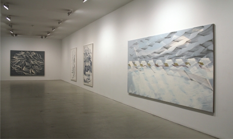 Installation ofPier and Ocean, February 3– March 26, 2011