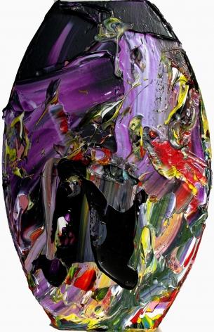 Alien, 1999 acrylic on wood panel