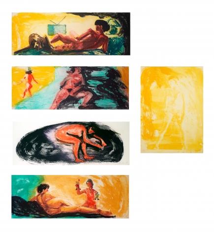 Eric Fischl Floating Islands, 1985