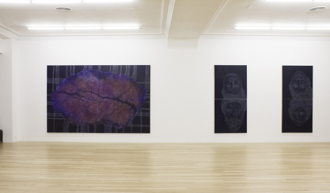 Installation of Drawing, December 11, 2014 – February 7, 2015