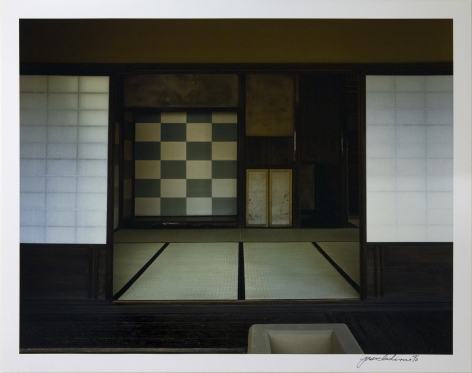 Tokonoma in the Main Room of the Shokintei Pavilion, viewed from the north-west, 1981-82