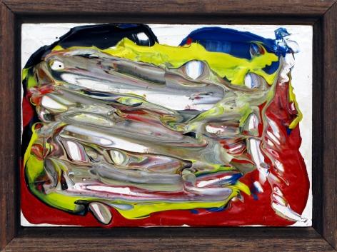 Cobra, 1987 acrylic on wood panel