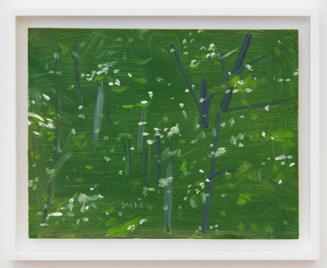 Alex Katz Cross Light, 2015