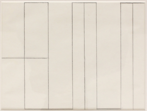Helmut Federle My Name as a Structural Design, 1979