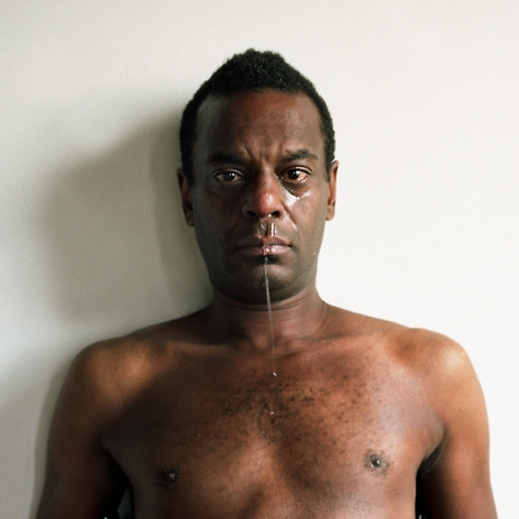 Clifford Owens Obligatory Self-Portrait of a Crying Performance Artist, 2016