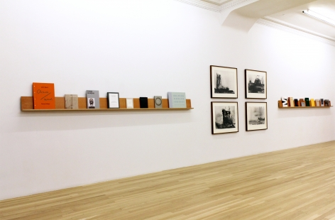 Installation of Peter Blum Edition: Books and Prints, July 6 – September 1, 2015