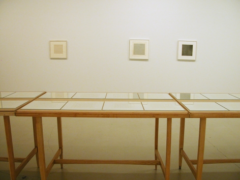 Installation ofWorks on Paper, January 18– March 15, 2008