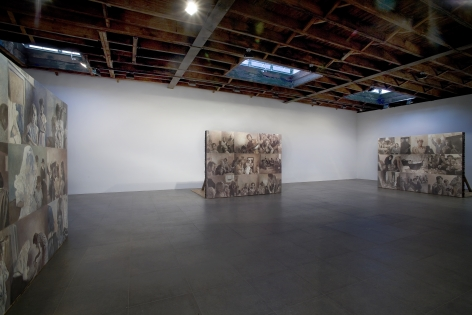 Installation view of Adrian Paci, Passages, 2007 at Peter Blum Chelsea