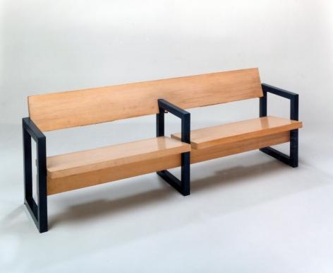 Gerrit Rietveld, church bench, furniture