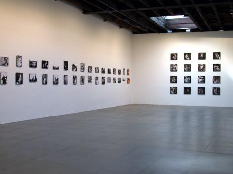 """Installation view of Chris Marker, """"Quelle heure est-elle?"""", 2009 at Peter Blum Chelsea."""