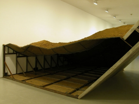 Installation ofCollapsed, March 19– July 24, 2009