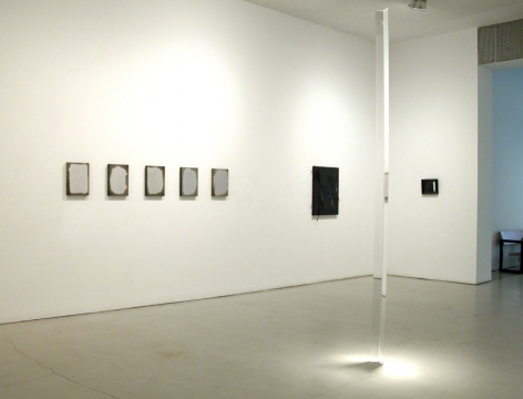 Installation view of Reflection, Group Exhibition, 2010 at Peter Blum SoHo.