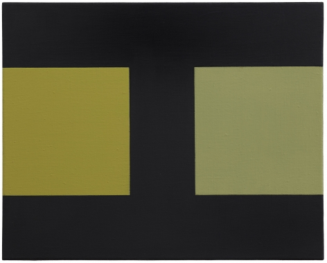 Helmut Federle Basics on Composition XXXXII (First Phase Navajo), 1992