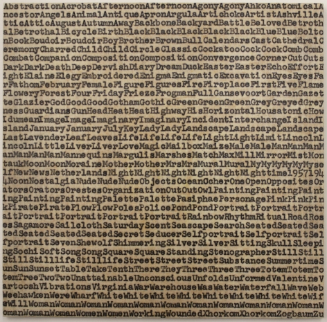 Carl Andre de Kooning Gorky Pollock, 1962