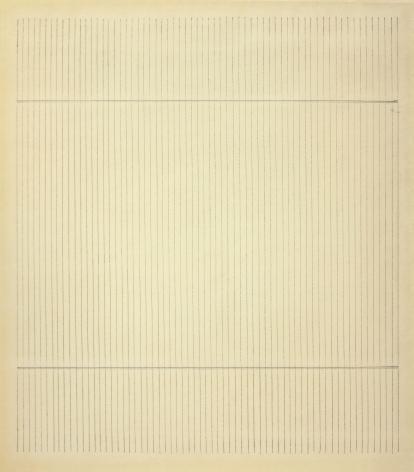 Agnes Martin Untitled, 1965