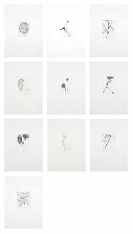 Louise Bourgeois Etchings for Homely Girl, A Life, 1992