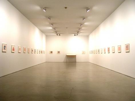 Installation ofOde à L'Oubli, September 30– November 13, 2004