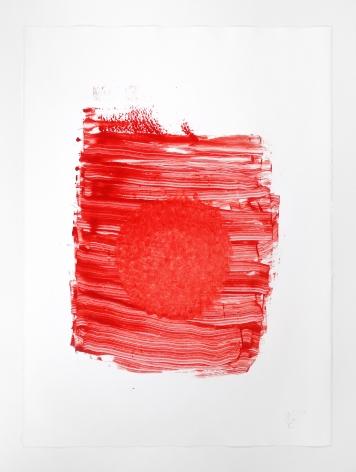 Nicholas Galanin Everything We've Ever Been, Everything We Are Right Now - Untitled (Red), 2019