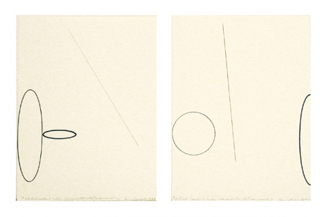 Construction of Vision/Horizontal Double (1 color property), 1973